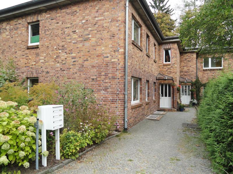 Fassade eines Hauses in Bernau-Waldfrieden