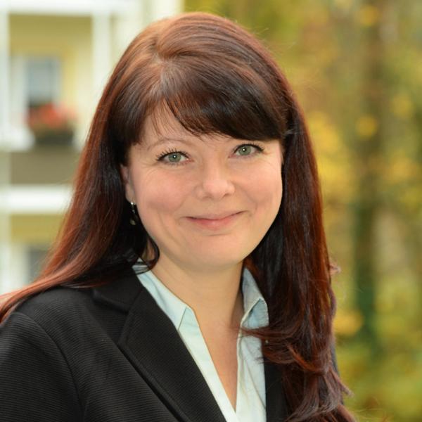 """Mitarbeiterin der WBG """"Aufbau"""" Strausberg Candy Gohlke"""