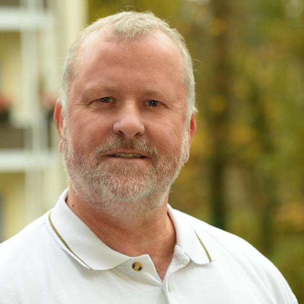 """Mitarbeiter der WBG """"Aufbau"""" Strausberg Dietmar Bagdahn"""
