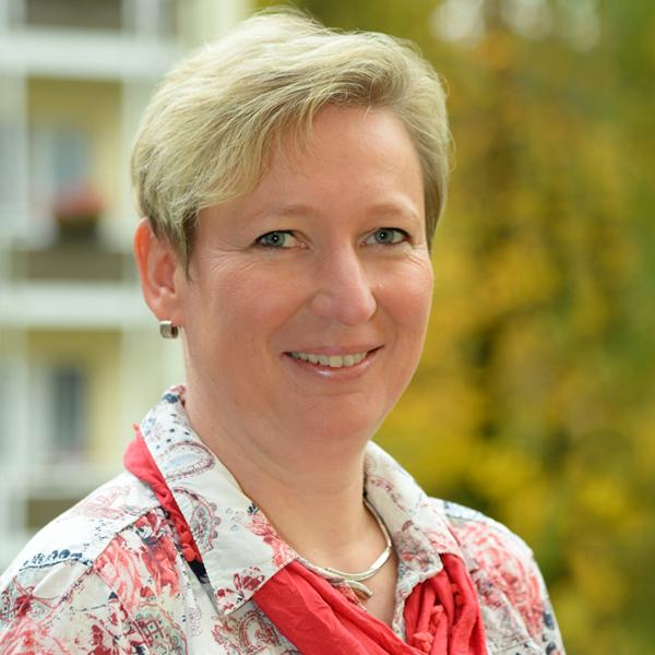 """Mitarbeiterin der WBG """"Aufbau"""" Strausberg Doreen Heyne"""
