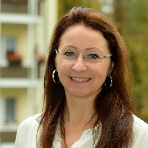 """Mitarbeiterin der WBG """"Aufbau"""" Strausberg Jessica Grahl"""