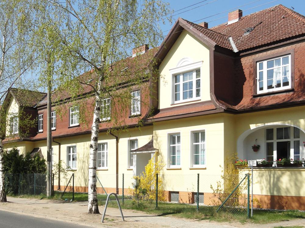 Hausansicht Paul-Singer-Straße 2 in Strausberg-Vorstadt