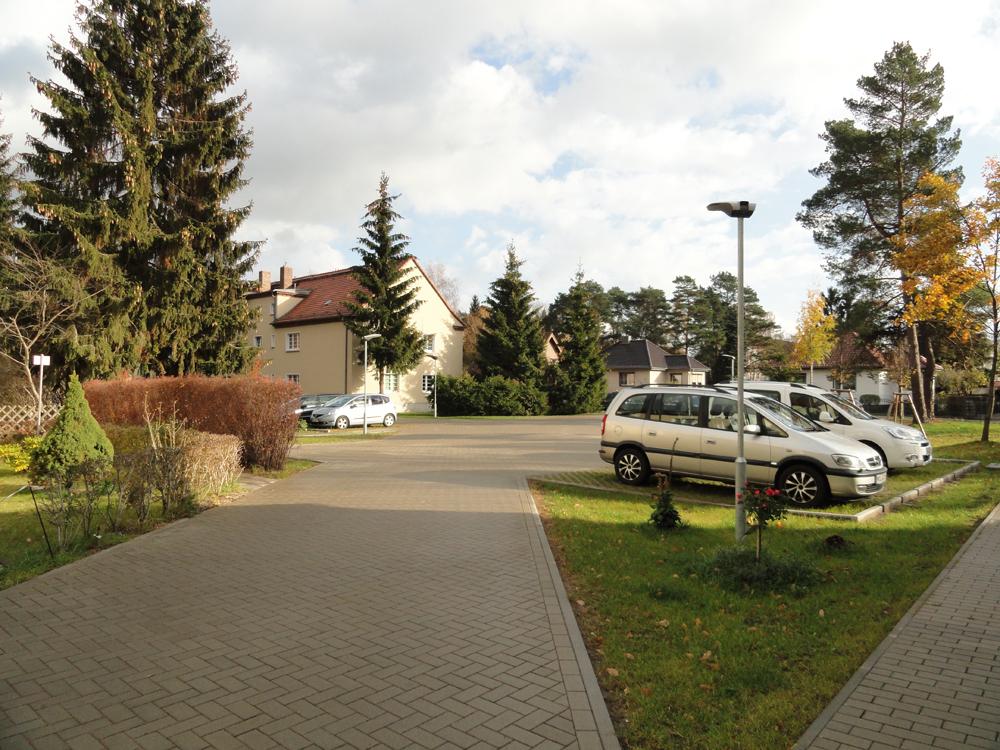 Neugestalteter Hof der Paul-Singer-Straße 3-5 in Strausberg-Vorstadt