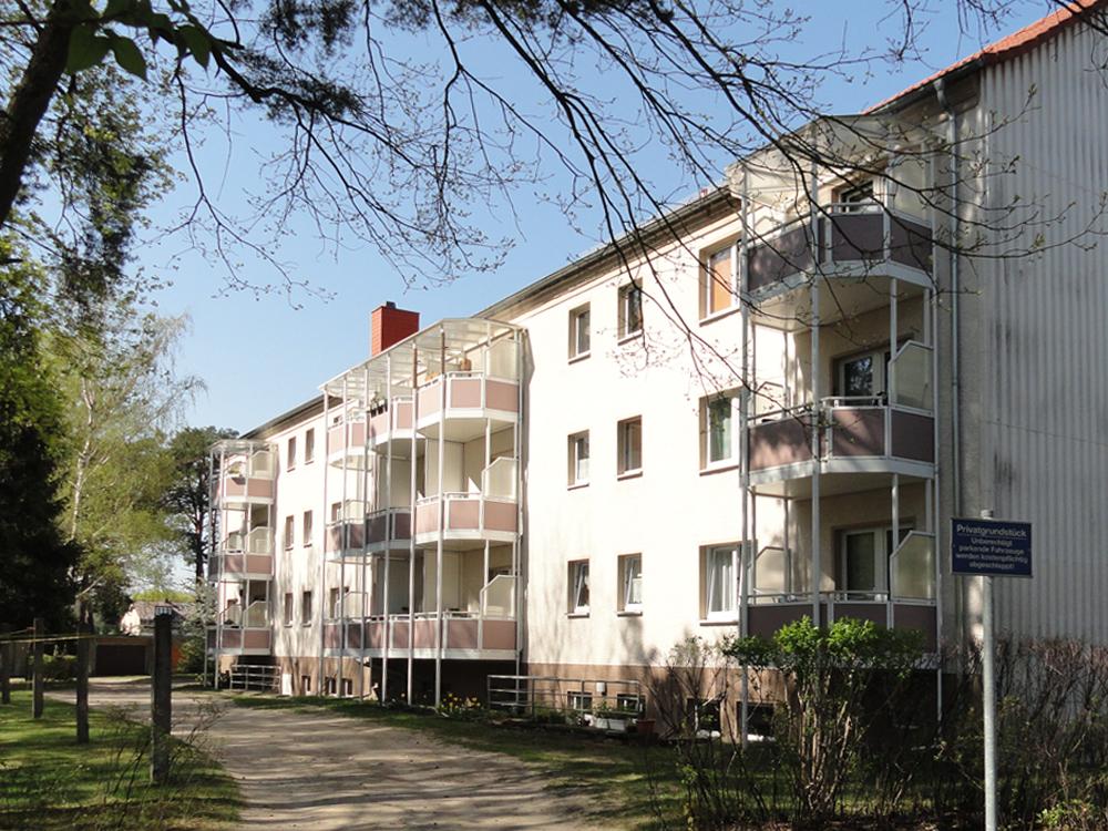 Hausansicht Landhausstraße in Strausberg-Vorstadt