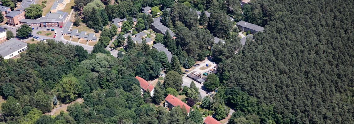Luftbild Bernau-Waldfrieden