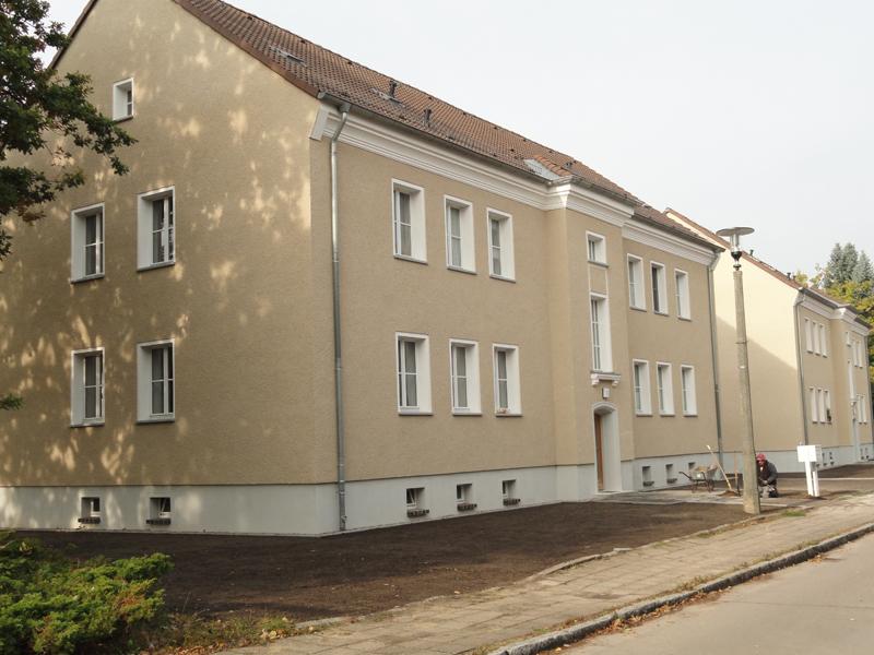 Neusanierte Häuser Ringstraße
