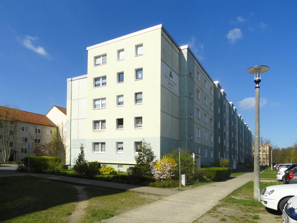 Ein Haus im Wohngebiet Am Försterweg