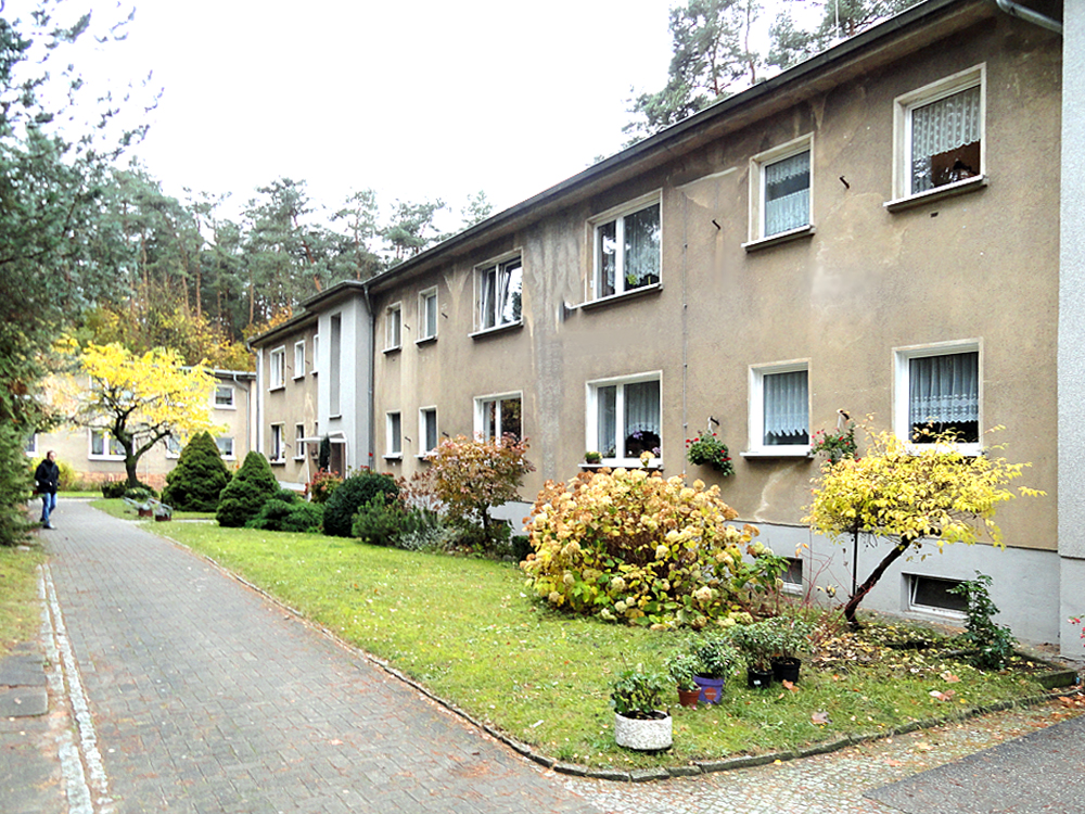 Ansicht eines Wohnhauses in Bernau-Waldfrieden