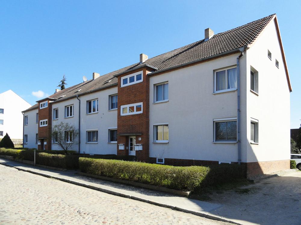 Ein Haus im Wohngebiet Bruno-Bürgel-Straße.