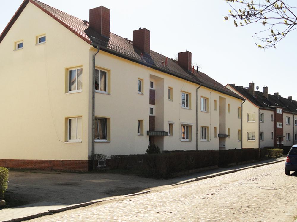 Ein Haus im Wohngebiet Bruno-Bürgel-Straße