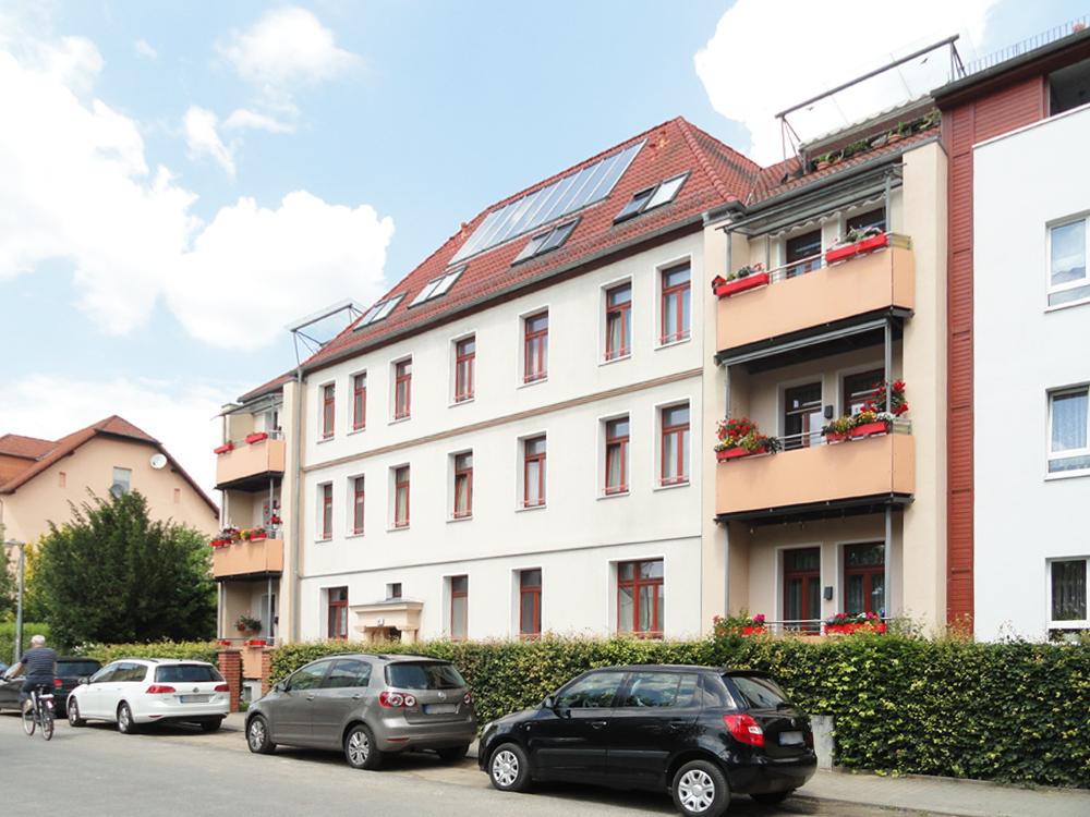 Haus im Wohngebiet Fritz-Reuter-Straße