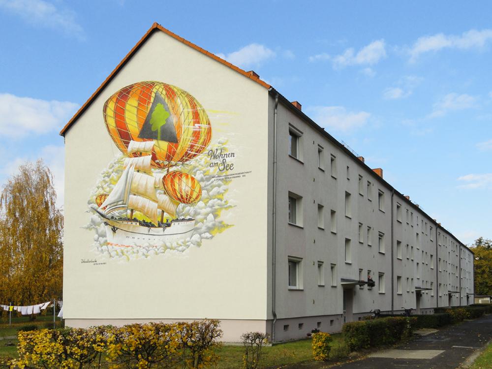 Ein Haus im Wohngebiet Lindenweg in Hennickendorf
