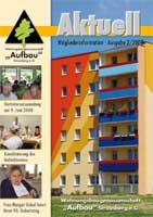 Titelbild der Mitgliederzeitung 2008