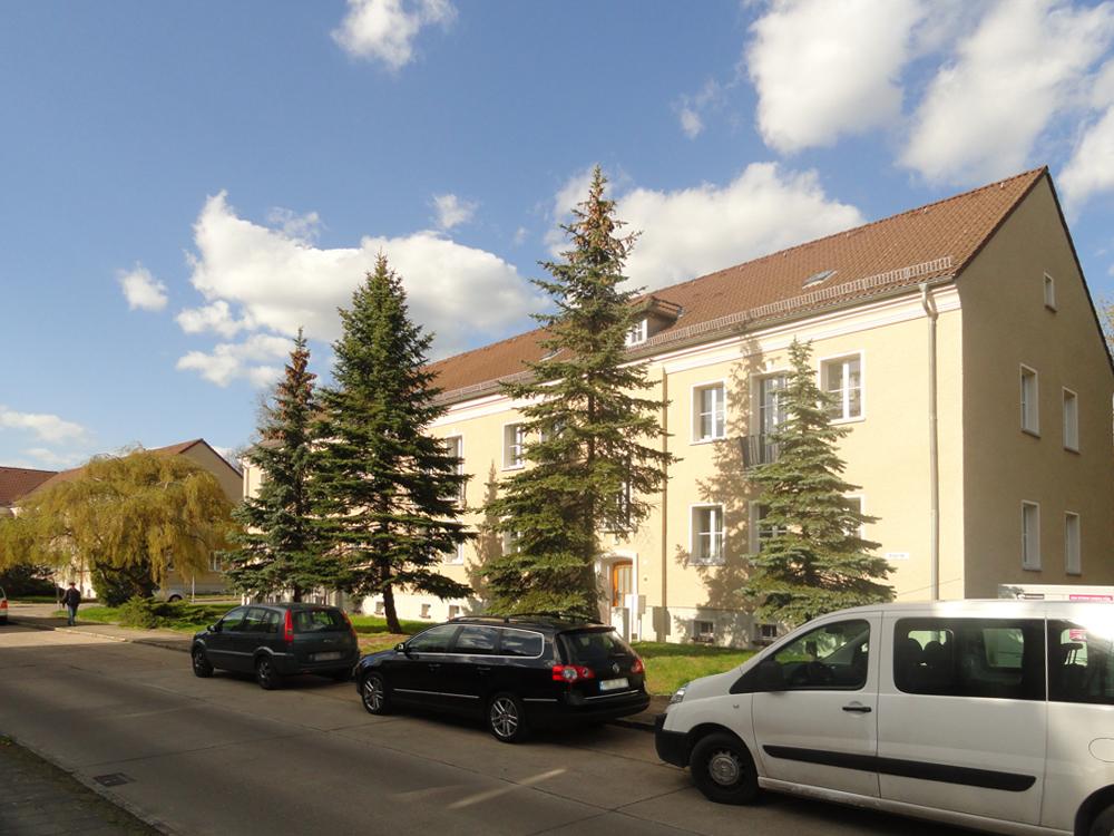 Ein Haus im Wohngebiet Seehaus-Siedlung