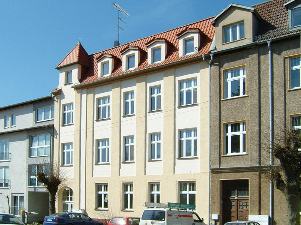 Ein Haus im Wohngebiet Walkmühlenstraße