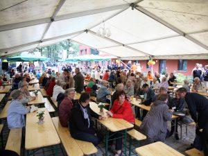 """Jubiläumsfest 60 Jahre WBG """"Aufbau"""" Strausberg am 13.09.2014"""