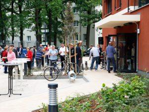 """Hoffest zur Einweihung des Neubaus der WBG """"Aufbau"""" Strausberg"""