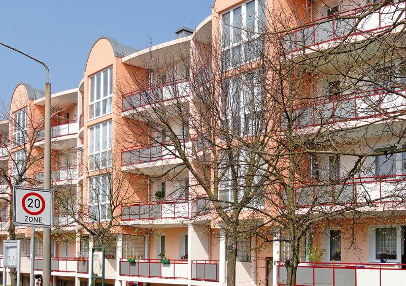 Hausansicht der Müncheberger Straße 26-29