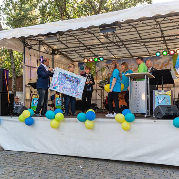 """65-Jahrfeier WBG """"Aufbau"""""""