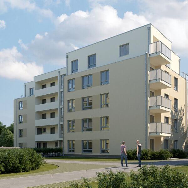 """Neubau Quartier am Märchenwald, Ansicht Haus """"Andersen"""""""
