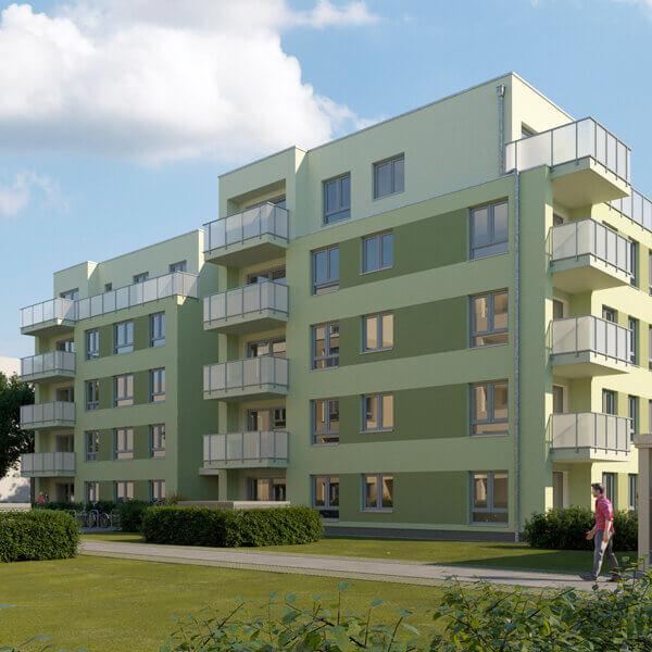 """Neubau Quartier am Märchenwald, Ansicht Haus """"Morgenstern"""""""