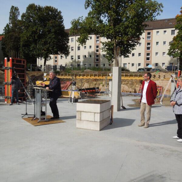 Grundsteinlegung Quartier am Märchenwald